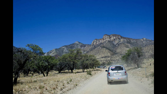 Coronado National Forest covers 1.78 million acres of southeastern Arizona and southwestern New Mexico.