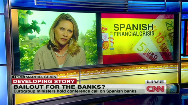 Eurozone talks amid Spain bank crisis