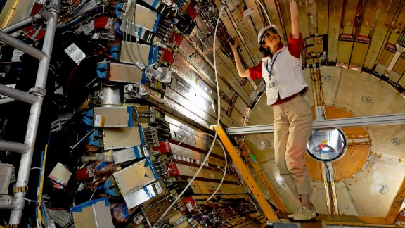 Italian particle physicist Fabiola Gianotti, 53, is the first female Director-General of the European Organisation for Nuclear Research (CERN) and led the institution during the recent discovery of the Higgs boson as part of the ATLAS experiment.
