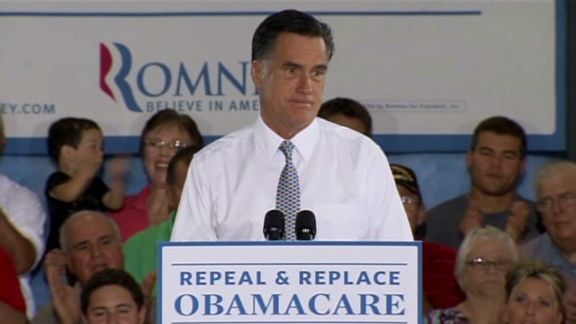 Romney attacks Obama health care plan