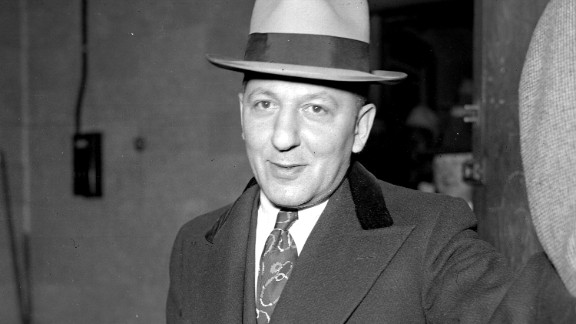 Mobster Louis Lepke Buchalter was one of the forces behind a hit squad known as Murder Inc. He died in the electric chair at New York