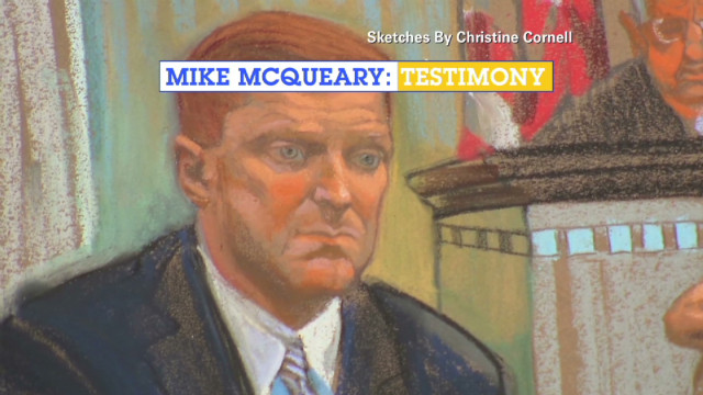 Who did McQueary tell?