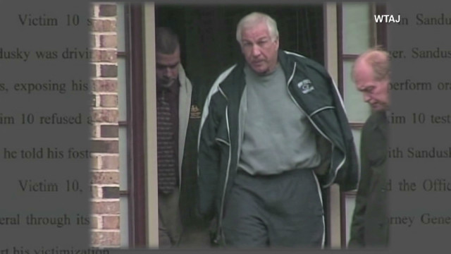 Who is 'Victim 10' in the Sandusky trial?