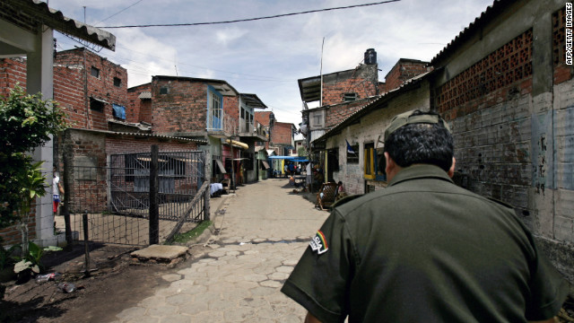 American prsioner Jacob Ostreicher is being held in the notorious Palmasola prison in Santa Cruz, Bolivia.