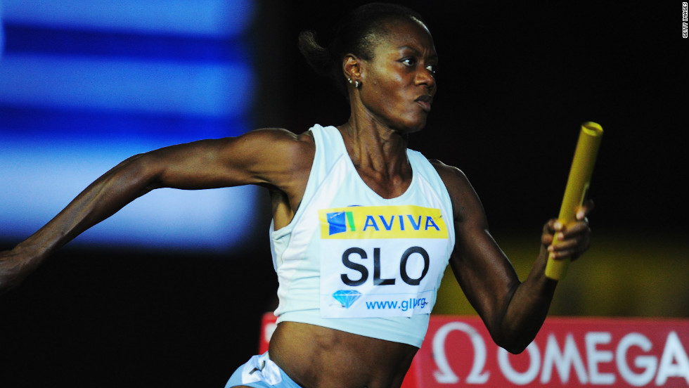 The remarkable Ottey was still competing for Slovenia at a Diamond League Athletics meeting in London in 2011. Now 52, she still has hopes of qualifying for London 2012.