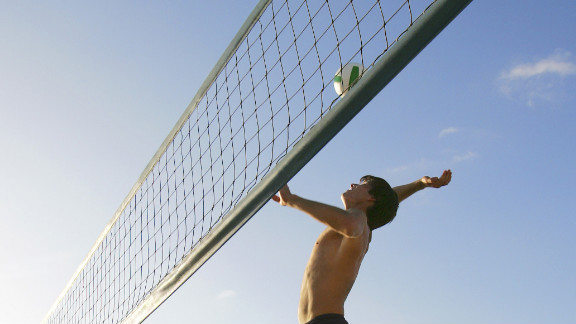 Sand and surf make the beach a prime spot to enjoy some fun and physical fitness. Whether you take a walk or join in a game of beach volleyball, the sandy terrain will provide you with less stability, making for a more challenging workout.