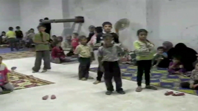 In Syria, shelling part of everyday life