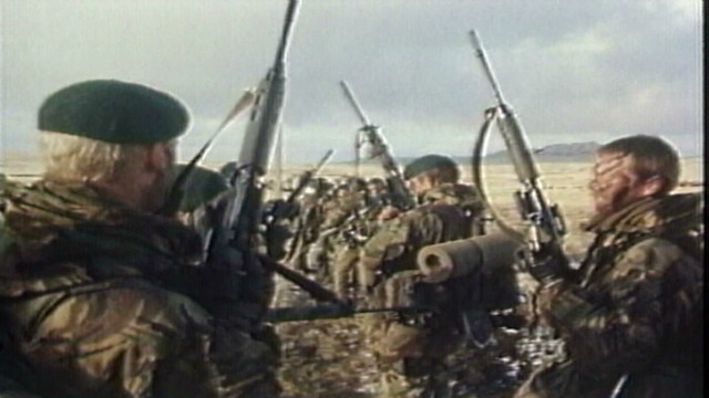 Anniversary of Falklands War marked