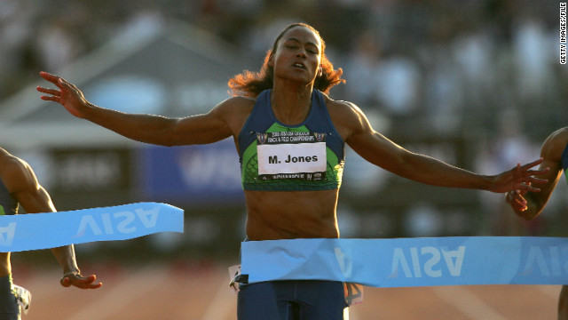 In 2008, Olympic track star Marion Jones was sentenced to six months in prison for lying to federal prosecutors investigating the use of performance-enhancing substances.