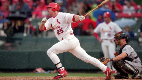 Baseball slugger Mark McGwire evaded questions about steroid use when speaking to Congress in 2005. But in 2010, he admitted that he had used steroids during the 1990s.
