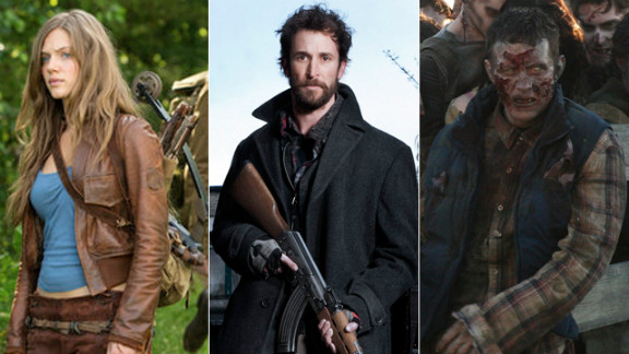"""""""Revolution,"""" """"Falling Skies"""" and """"Walking Dead"""" are all bringing post-apocalyse action to the small screen."""