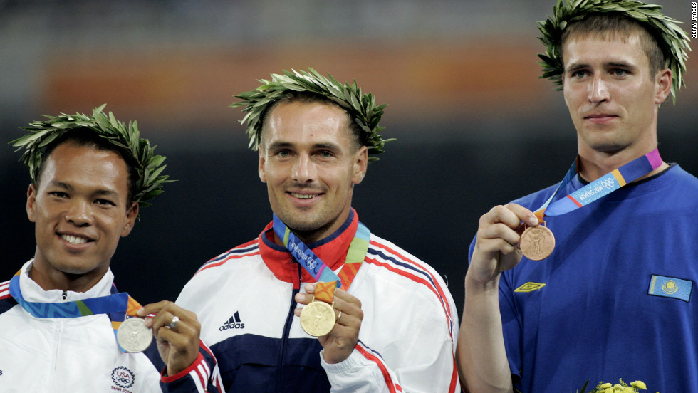 Clay won decathlon silver behind Roman Sebrle at the 2004 Olympics in Athens.