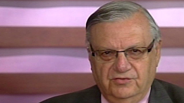 Joe Arpaio asks 'why now' to immigration