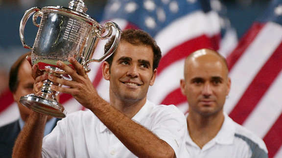 Sampras finished his career on a high, winning his 14th and final grand slam on home soil at the 2002 U.S. Open after beating Agassi in the final.