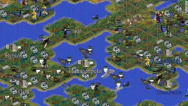 In this 10-year-old 'Civilization' game, most of the world is ravaged by war and flooding after the ice caps melted.