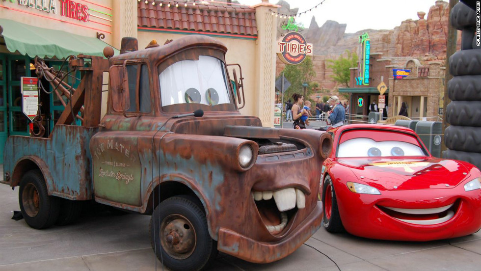 Can Cars Land Revive California Adventure Cnn Travel