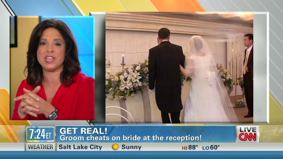 Wedding wife day on cheats Groom 'plays
