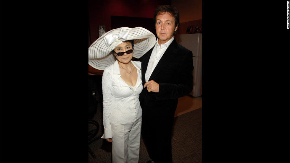 In 2006 Yoko Ono And McCartney Attend QuotLOVEquot A Beatles