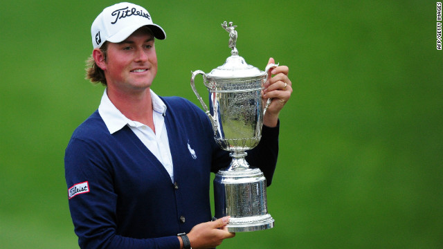 Simpson wins his first major title
