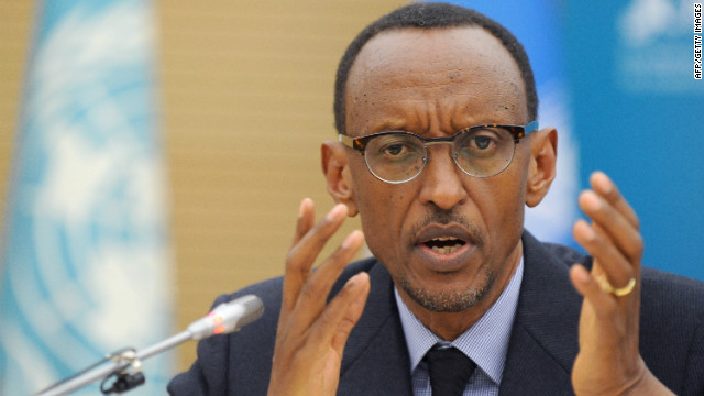 Rwanda's President Paul Kagame will seek a third term this year.