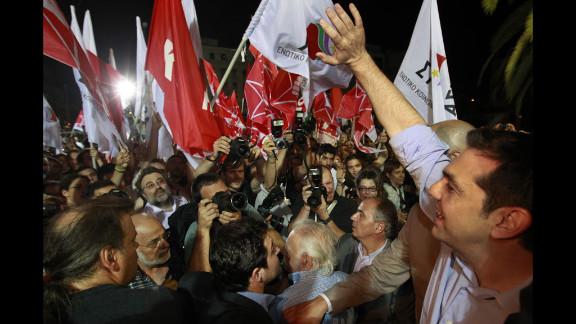 Alexis Tsipras, the head of Greece