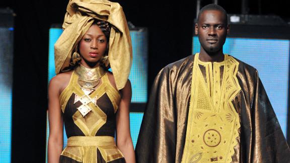 Benin designer Dasha Nicou adds a modern twist to traditional African styles.