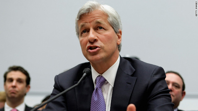 JPMorgan Chase & Co Chairman and CEO Jamie Dimon testifies before the House Financial Services Committee.