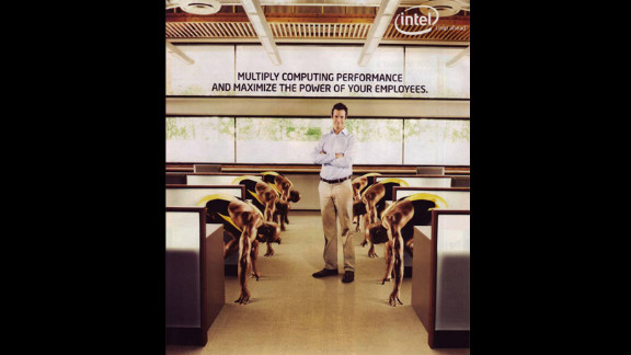 "In 2007, computer chip maker Intel was forced to retract an ad that many considered racist. ""Intel"