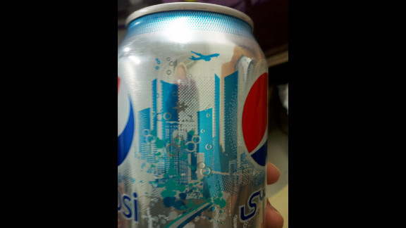 CNN iReporter Lyndsay Brock, working at the Baghdad Diplomatic Support Center in Iraq, shared this photo of a Diet Pepsi can that caused some controversy online in 2011. Some said the imagery resembled the Twin Towers and a plane flying overhead. Pepsi responded that any such resemblance was unintentional and that the design was inspired by the skyline in Dubai, United Arab Emirates.