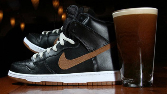 "In March 2012, Nike promoted a shoe referred to as the ""Black and Tan"" SB low dunk, with a planned release date on St. Patrick"