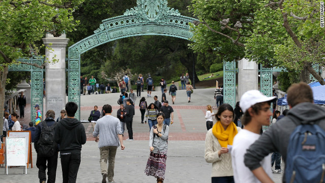 University of California, Berkeley, will have to find a new president at the end of the year.