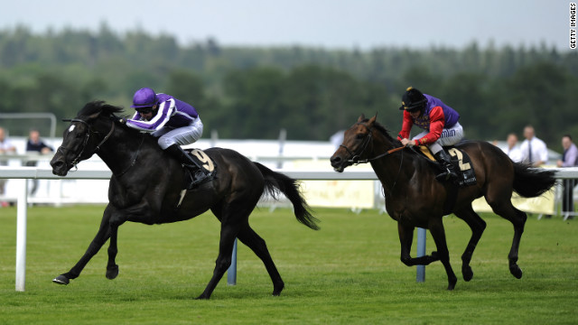 The Queen's horse Carlton House (r) missed out to So You Think in the Prince of Wales Stakes.