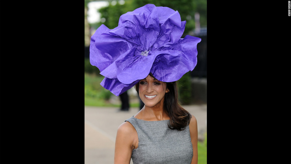 Jackie St. Clair attends day two of Royal Ascot.