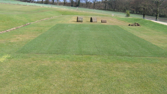 STRI staff use their facility to replicate the grass on Wimbledon
