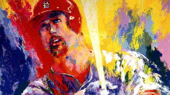 In 1999 Neiman painted a portrait of baseball star Mark McGwire, made in honor of McGwire
