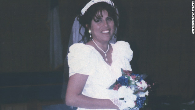 Florinda Gotcher poses for a photo on her wedding day.