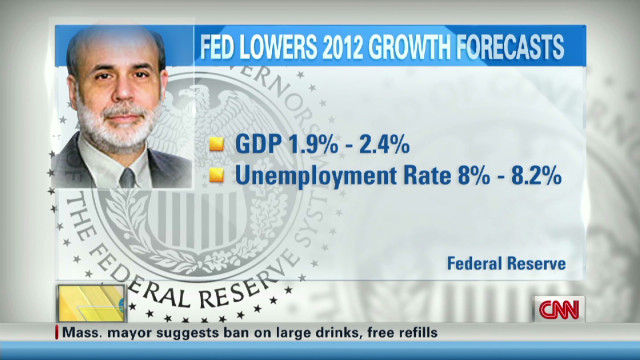 Fed warns of economic slowdown