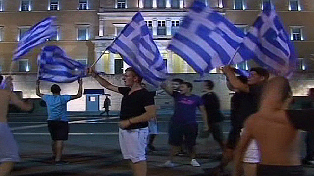 Greeks prepare for showdown with Germany