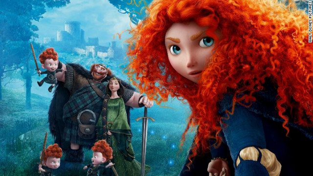 "Disney-Pixar's ""Brave"" opened strong on its debut weekend."