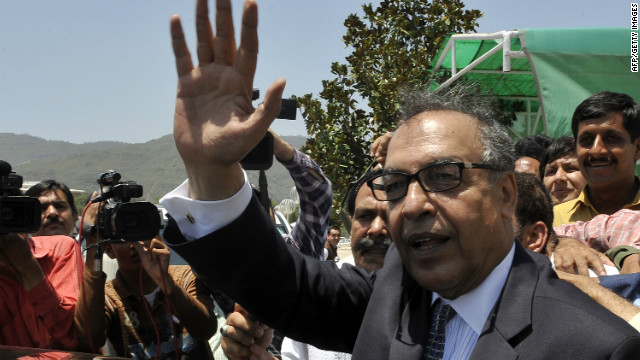 Warrant issued for Pakistani PM nominee