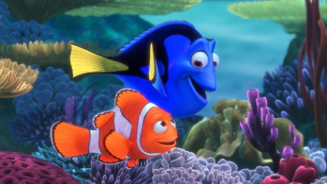 "Pixar's original ""Finding Nemo"" features the voices of Albert Brooks and Ellen DeGeneres."