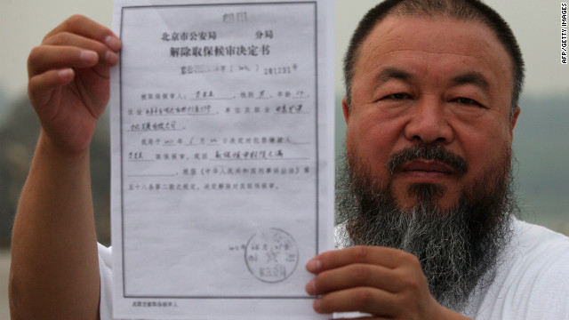 Ai Weiwei on challenges