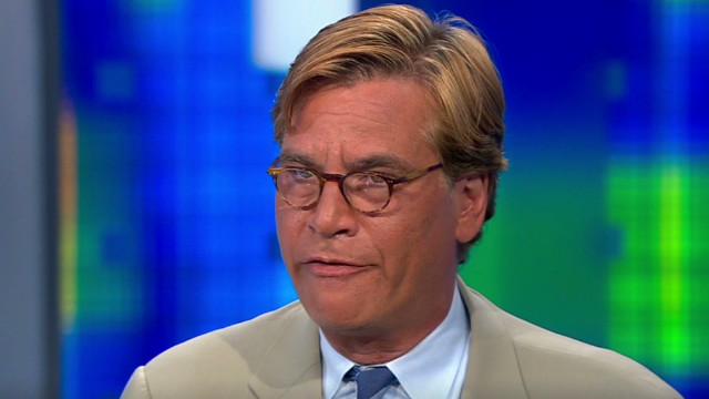 Aaron Sorkin: 'I'm a fiction writer'
