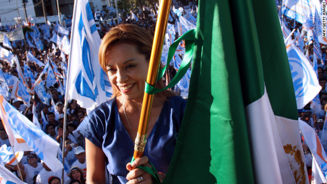 Josefina Vazquez Mota of the ruling National Action Party has appeared to distance herself from the incumbent's policies.