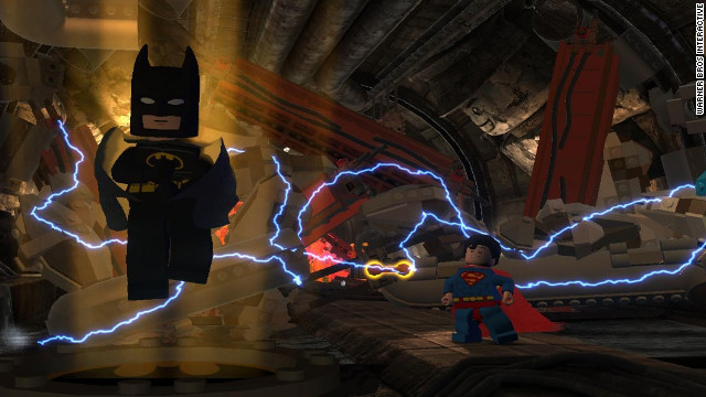 Chatty Blocky Lego Action In Batman 2 Dc Super Heroes Cnn