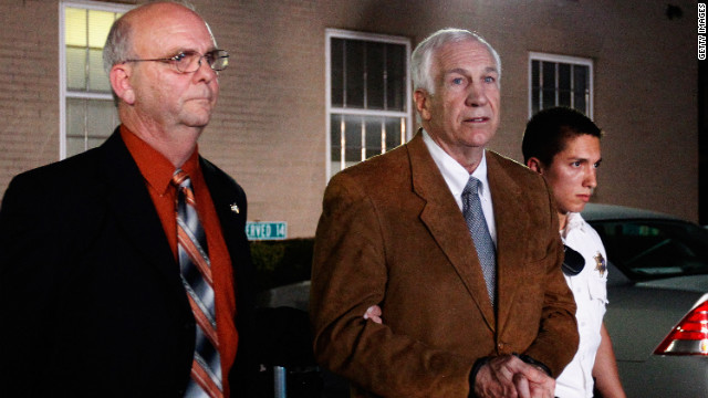 Jerry Sandusky speaks from jail