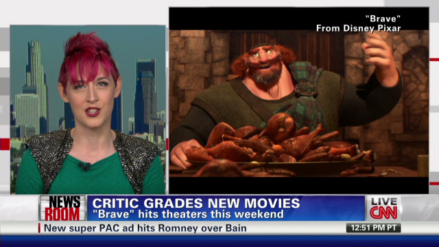 Movie review: Disney-Pixar's 'Brave'
