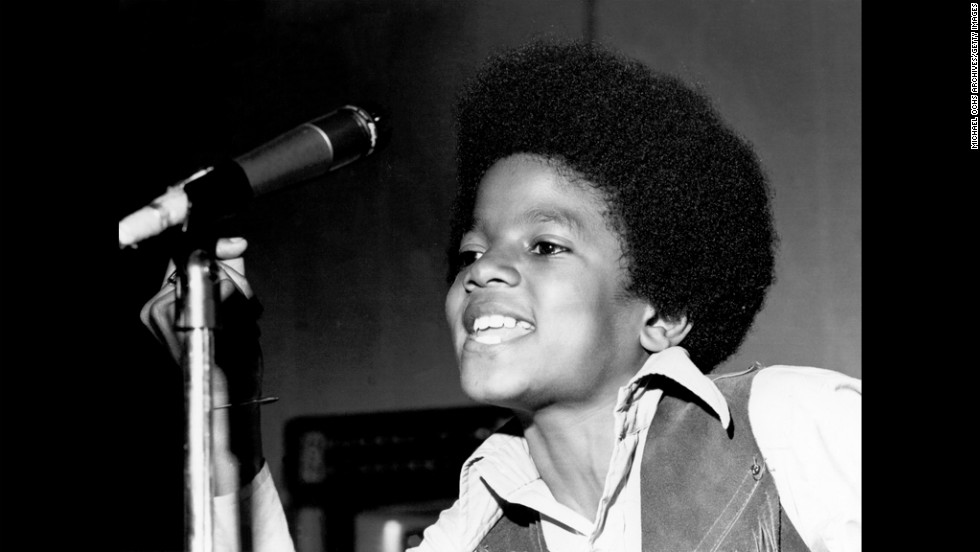 Michael Jackson quickly became the standout star of the family group. Here he performs onstage circa 1970.