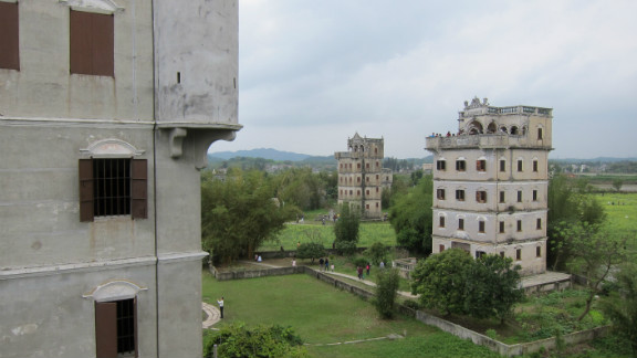 The tiny village of Zili in southern China attracts dozens of tour buses on weekends. The tourists come to see the Kaiping watchtowers - a Unesco world heritage site.