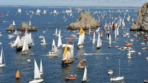 Brest is located in the region of Brittany -- home to some of the most stunning vistas in France -- taking in more than 1000 kilometers of dramatic rocky coastline.